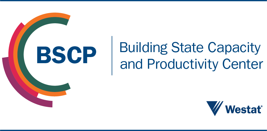 Building State Capacity and Productivity Center at Westat Logo
